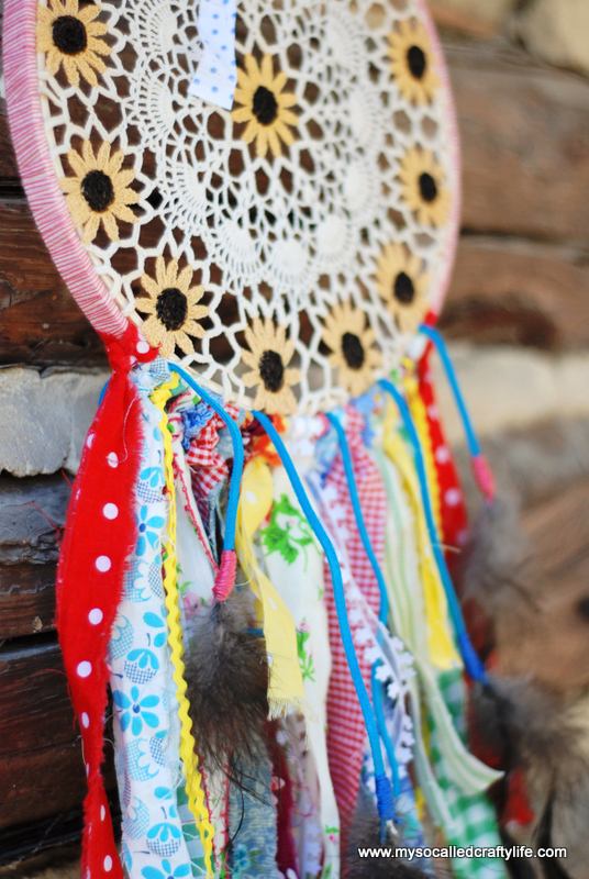 shabby dream catcher