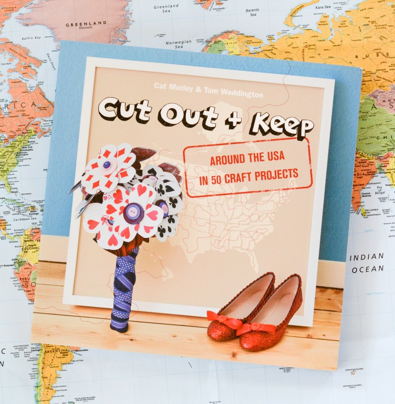 Craft Book Review And Tutorial Cut Out Keep Around The Usa In 50