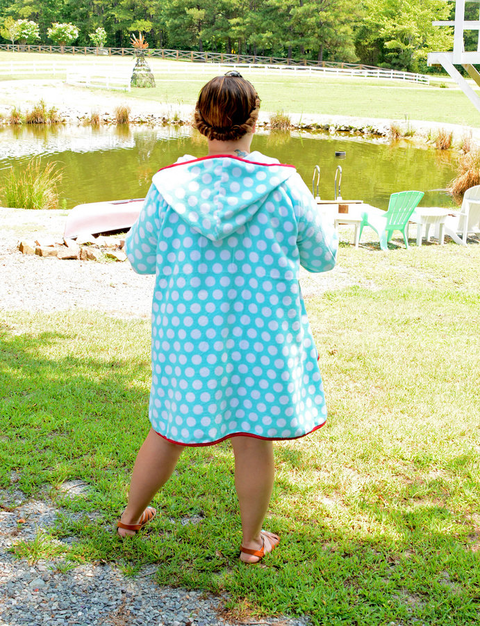 DIY Vintage Beach Cover Up