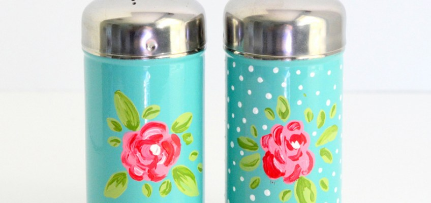 Vintage Crafts- Painted Shakers