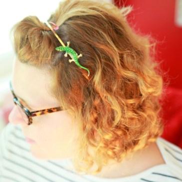 Easy DIY Vintage Brooch Hair Accessories