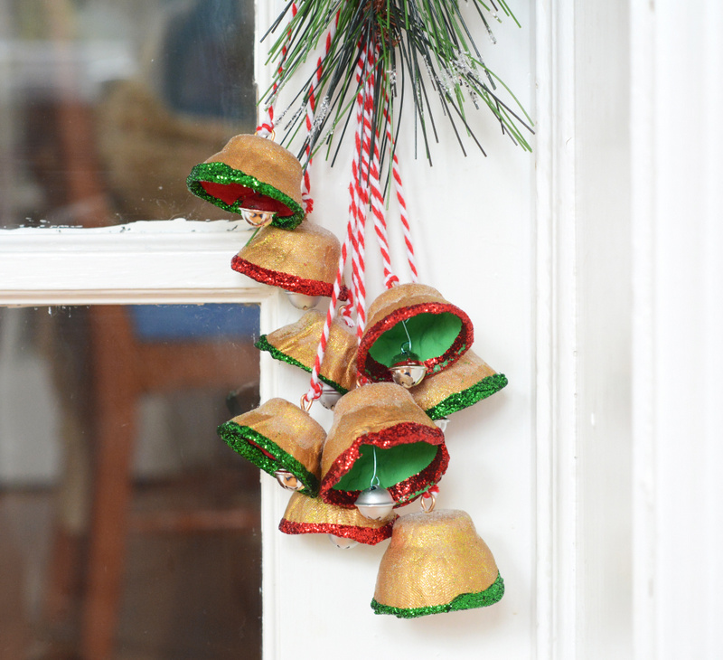 DIY Egg Carton Bells