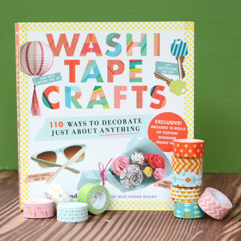Washi Tape Crafts Book is Here!!!