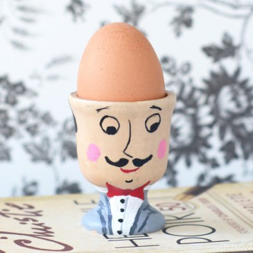 DIY Detective Poirot Egg Cup