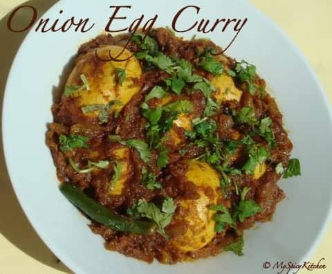 Onion Egg Curry