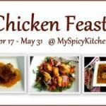 Chicken Feast, myspicykitchen, my spicy kitchen