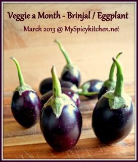 VFAM, VFAM-Eggplant, Brinjal, Eggplant, Veggie a Month