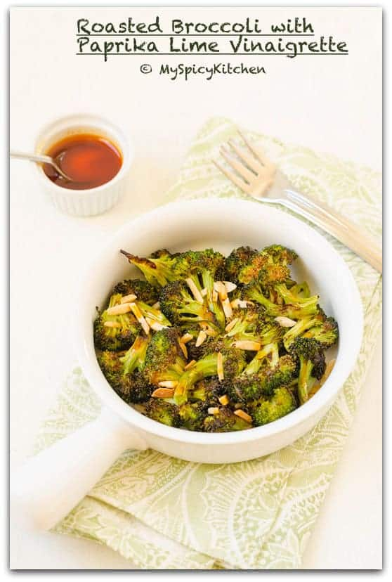 Roasted Broccoli, Roasted Vegetable, Oven Roasted Broccoli, Bakeathon, Side Dish,