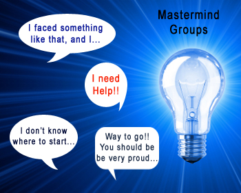 join a mastermind group, how it works