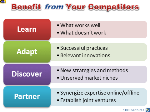 proven strategies to grow your startup, learn from your competitors