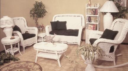 indoor wicker furniture or living room set 4205 for sunroom