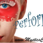 Theatrical Makeup in Performer's Prep by Mystic's Carnival Collective