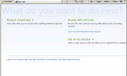 How To Restore about:Tabs (New Tab) Page in IE8 Hijacked by BigSeekPro/Babylon Toolbar
