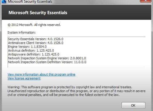 Microsoft Security Essentials 4.0 Download