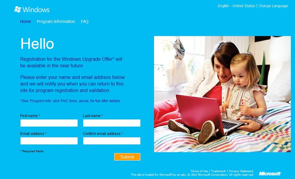 Windows Upgrade Offer: Microsoft Launches Windows 8 Pro Upgrade Offer