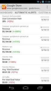 google-analytics-for-android-automatic-alerts
