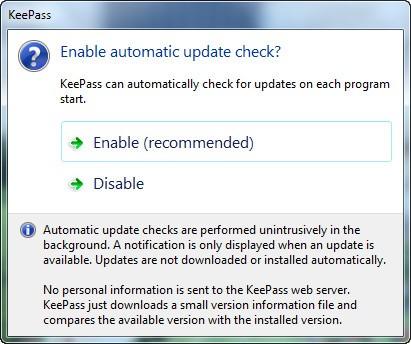 keepass-update-check