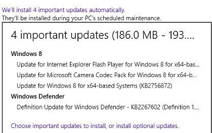 Microsoft Releases Cumulative Update For Windows 8 Ahead Of General Availability