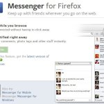 Facebook Messenger For Firefox Now Available, The First Social API App