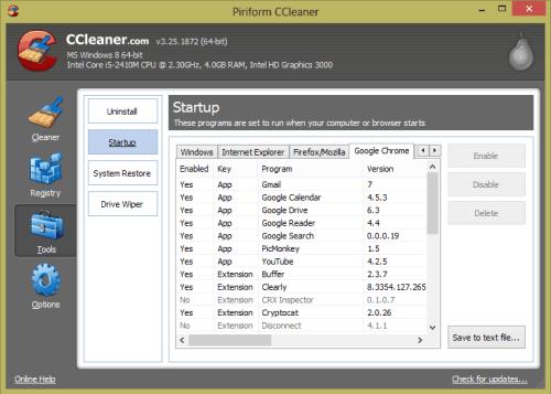 CCleaner Update