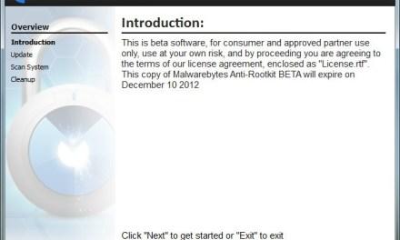 Malwarebytes Anti-Rootkit Beta Available For Download