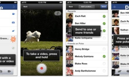 Download Facebook Poke App for iPhone, iPad and iPod Touch, Now Send Self-Destructing Messages, Images and Videos Easily