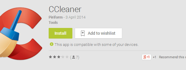 CCleaner Android App Review With Download Instructions