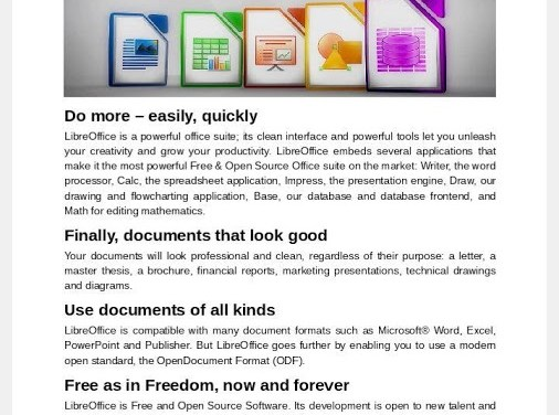 LibreOffice Viewer for Android Lets You View Any Type of Office File Formats