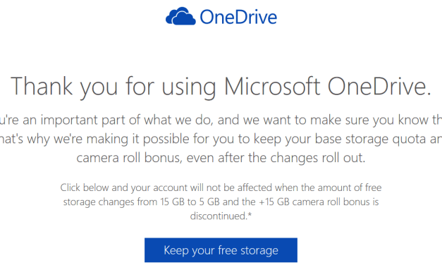 How To Keep 15 GB Free OneDrive Storage Plus Camera Bonus Space