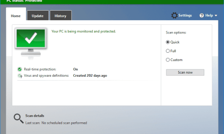 How To Get Windows Defender Offline Update In Windows 10