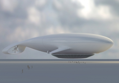 flying hotel [Concept] Manned Cloud: hotel dirigibile