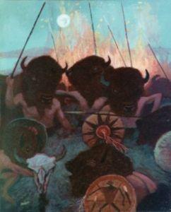 Buffalo Dance by Robert Bissett