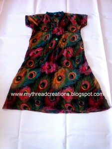 How to stitch an A-line kurti sewing tutorial.