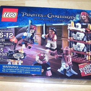 LEGO PIRATES OF THE CARIBBEAN THE CAPTAIN'S CABIN BRAND NEW FACTORY SEALED 4191