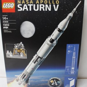LEGO 21309 Ideas #017 NASA Apollo Saturn V 1969pcs New In Hand Free Shipping