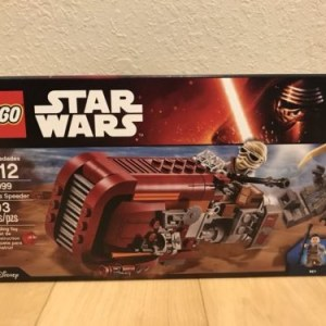 LEGO Star Wars 75099 Rey's Speeder New Sealed