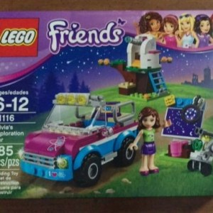NEW Lego Friends Olivia's Exploration Car 41116