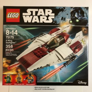 LEGO Star Wars 75175 A-Wing Starfighter New Sealed