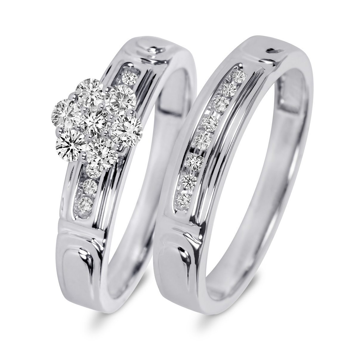 promotion engagement ring set promotion wedding rings set New Bridal wedding Rings set Engagement ring Women Classic design Vintage Jewelry Fashion Beautiful 2 pcs Ring for wedding