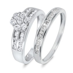 Small Of Wedding Ring Sets