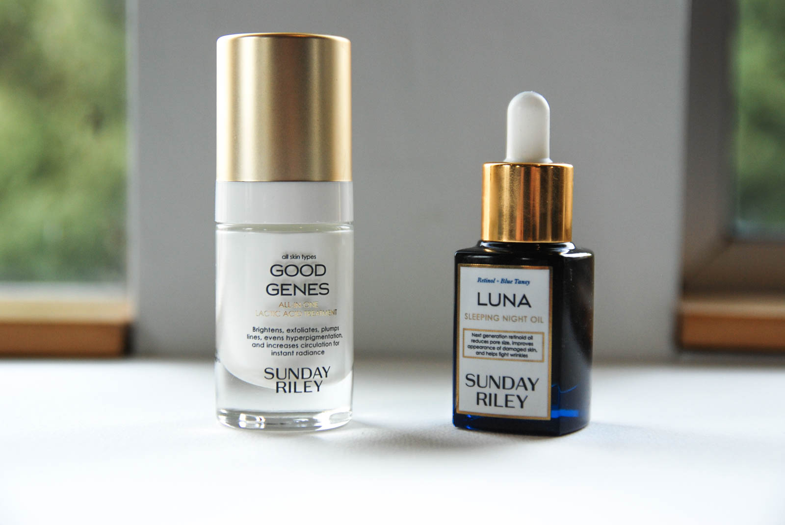Sunday Riley Power Couple: Luna Sleeping Night Oil & Good