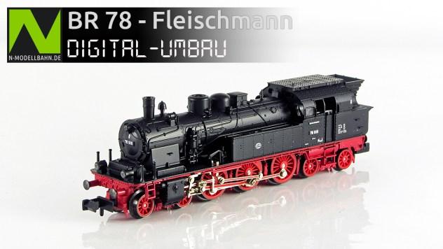 BR 78 von Fleischmann (Art. Nr. 7077)