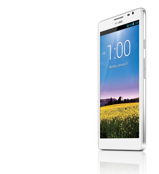 Huawei Ascend Mate screen