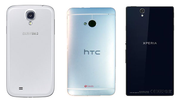galaxy s4 vs xperia z vs htc one-3