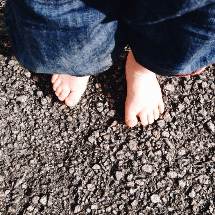 #WithoutShoes