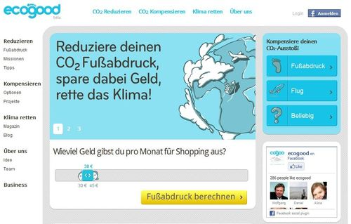 www.ecogood.de – Klimaschutzportal