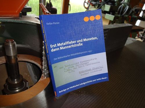"""Das neue Buch von Stefan Pürner: """"Erst Metallfieber und Moneten, dann Mannertstraße"""""""