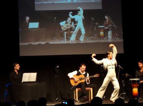Eröffnungskonzert Gitarrenfestival Hersbruck mit der Santiago Lara Grupo und der Flamencotänzerin  Mercedes Ruiz