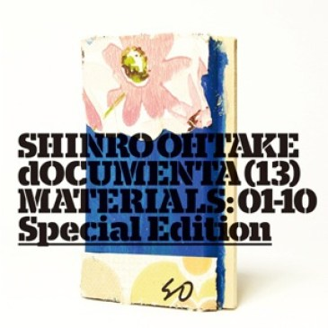 """Shinro Ohtake """"dOCUMENTA (13) Materials: 01-10"""" Special edition by edition.nord"""