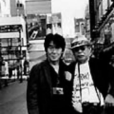 森山大道+荒木経惟  <br>「コンタクト・新宿・トリミング」